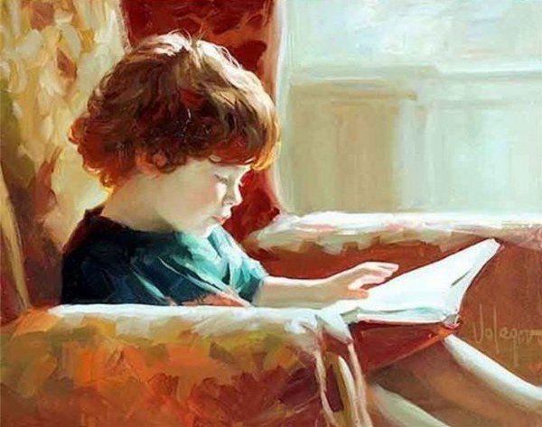 Bambini Dipinti ~ Vladimir volegov russian dipinti
