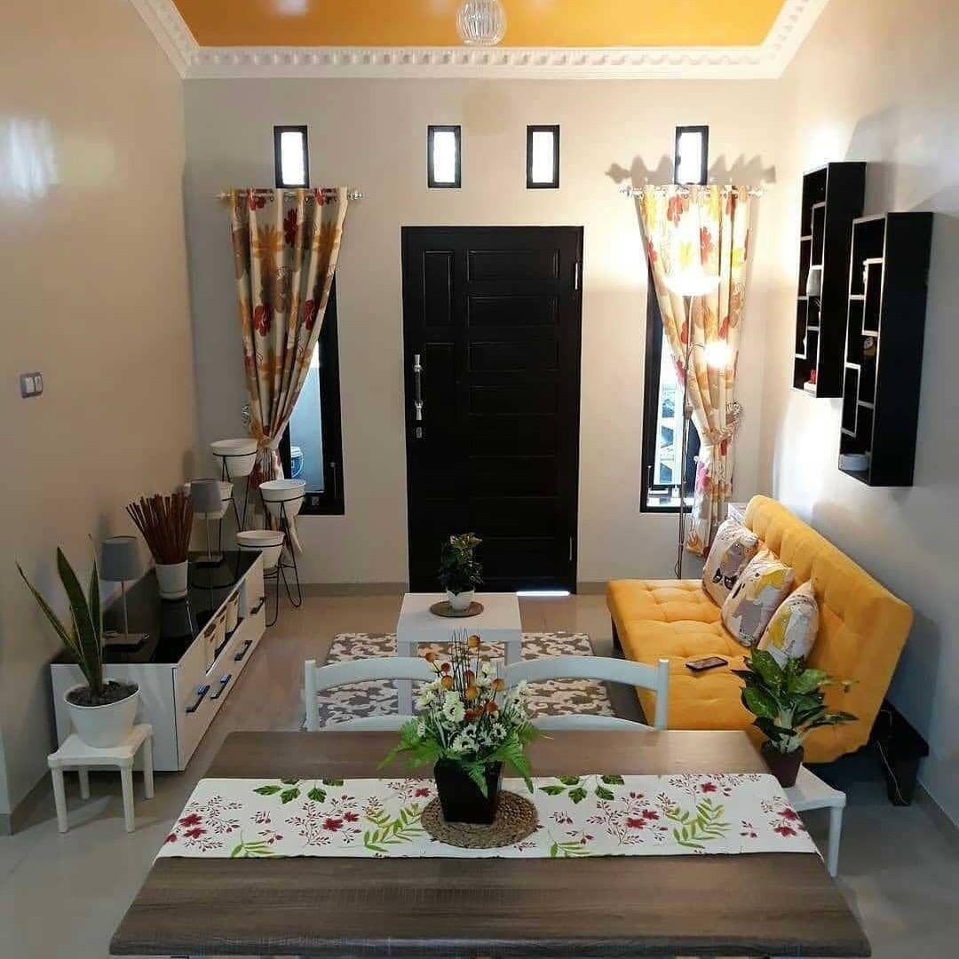 Inspirasi Ruang Tamu Nih Moms Credit Myhomeyls Nyari Ins Interiores De Casas Pequenas Diseno De Interiores Salas Decoracion De Casas Pequenas