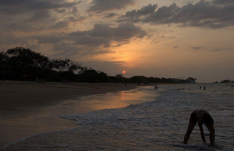DSC_0058.NEF - Pôr do sol em mosqueiro,Belém,Pará,Brasil.