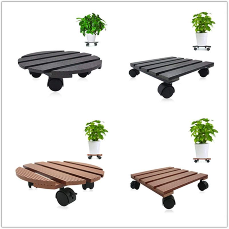 Plant Dolly stand rolling with Wheels Heavy Duty Caddy Holder Patio Pot