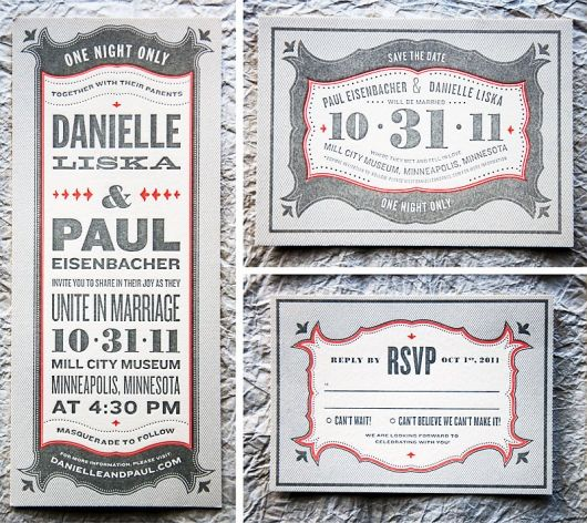 I hope my invitations will be this cool