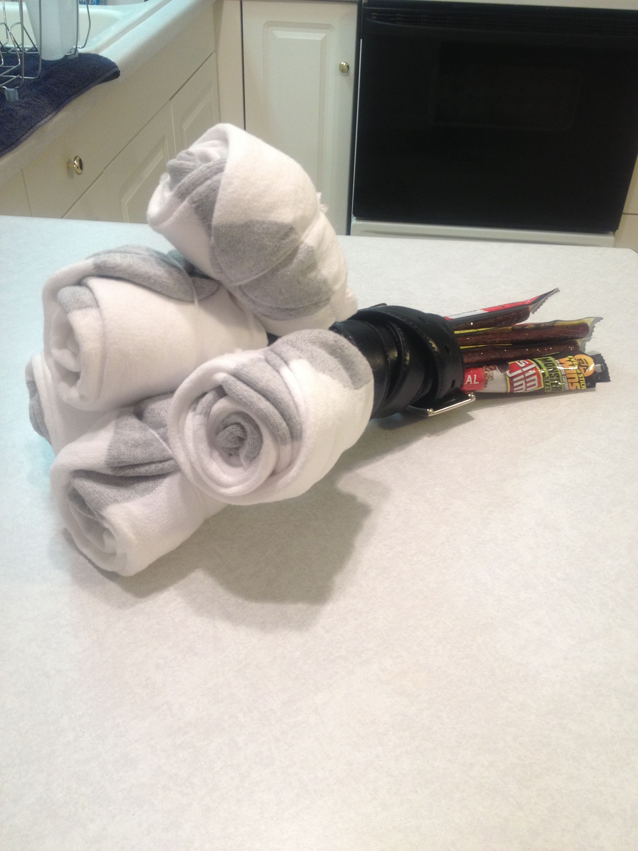 Manly Bouquet Socks Slim Jim S Belt Flowers For Him