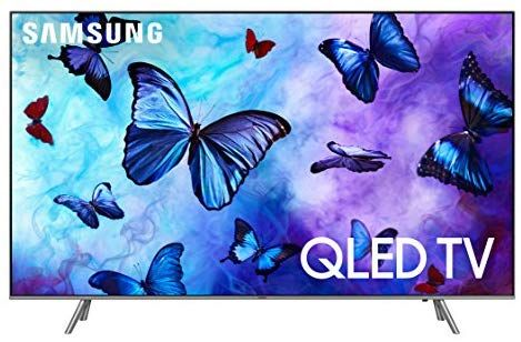 Amazon Com Samsung Qn65q6fn Flat 65 Qled 4k Uhd 6 Series Smart