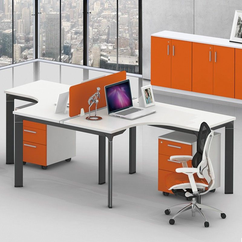 Unique Design Mdf Modern Two Sided Office Desk Cheap Office Desk