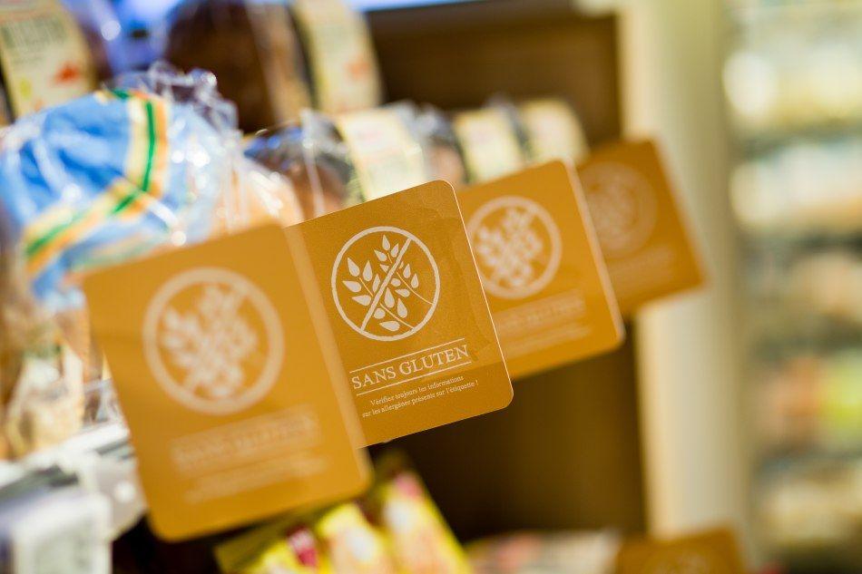 Delhaize by Minale Design Strategy - Retail Design - In-store communication medium - Gluten-free