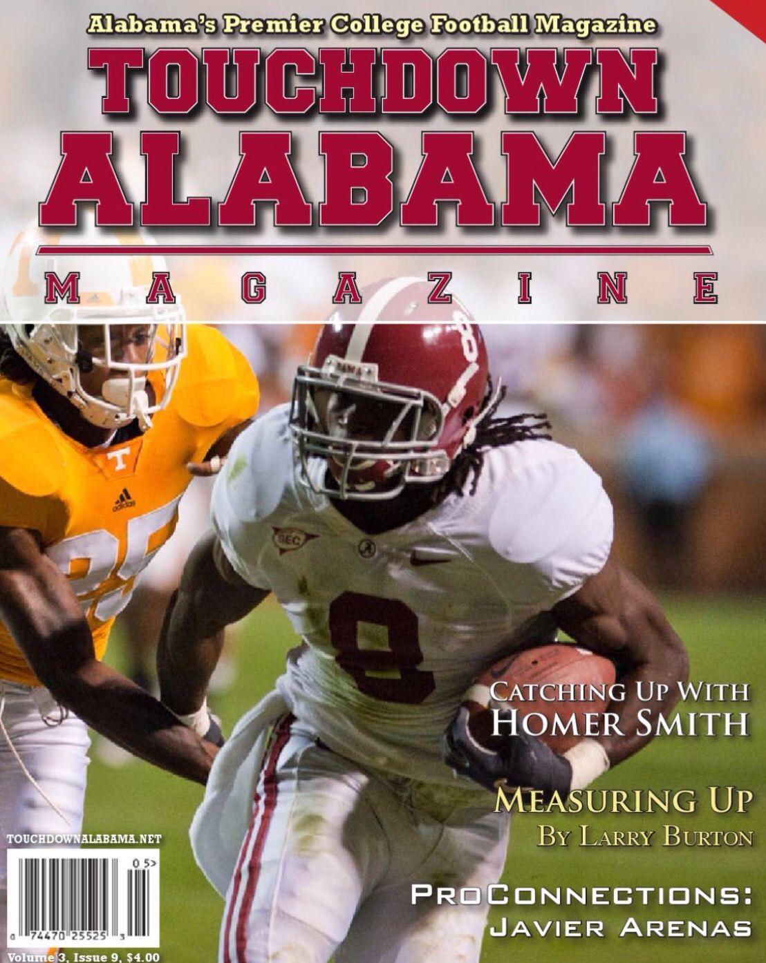 Julio Jones Cover Nov 6 2010 Touchdown Alabama Magazine Cover Alabama Rolltide Builtbybama Bama Bamanation Crims Alabama Crimson Tide Alabama Roll Tide