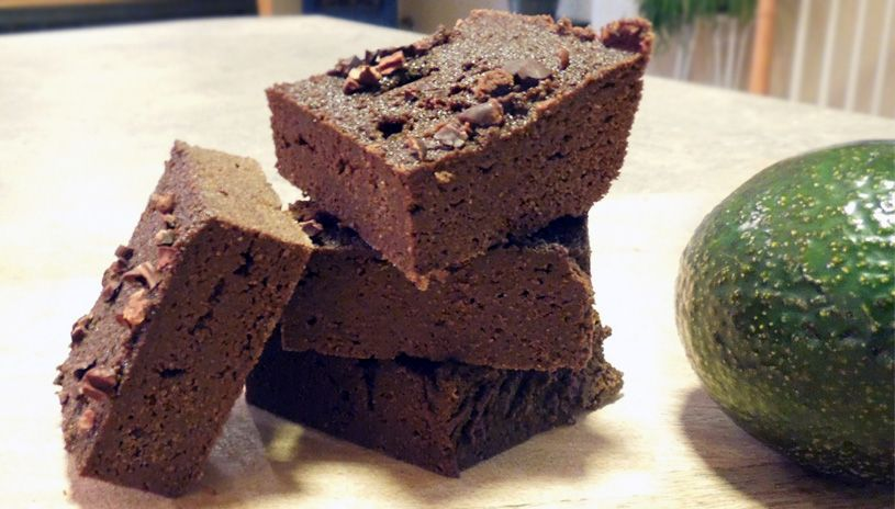 Healthy paleo avocado brownies recipe t1d living