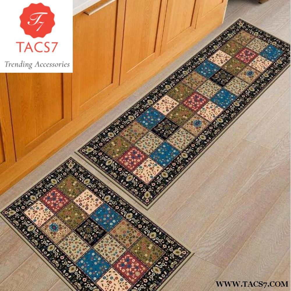 kitchen rug set chalkboard art 2pcs non slip mat carpets 40 60cm 120cm products bathroom bedroom floor carpet soft bedside footcloth corridor