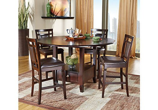 e04cbaf7a127 Shop for a Landon 5 Pc Dining Set at Rooms To Go. Find Dining Room Sets  that will look great in your home and complement the rest of your furniture.