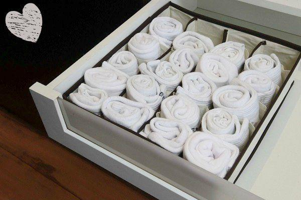 A Isabela Kastrup dá dicas, ideias e inspirações pra você organizar roupa íntima, no Blog Mara!
