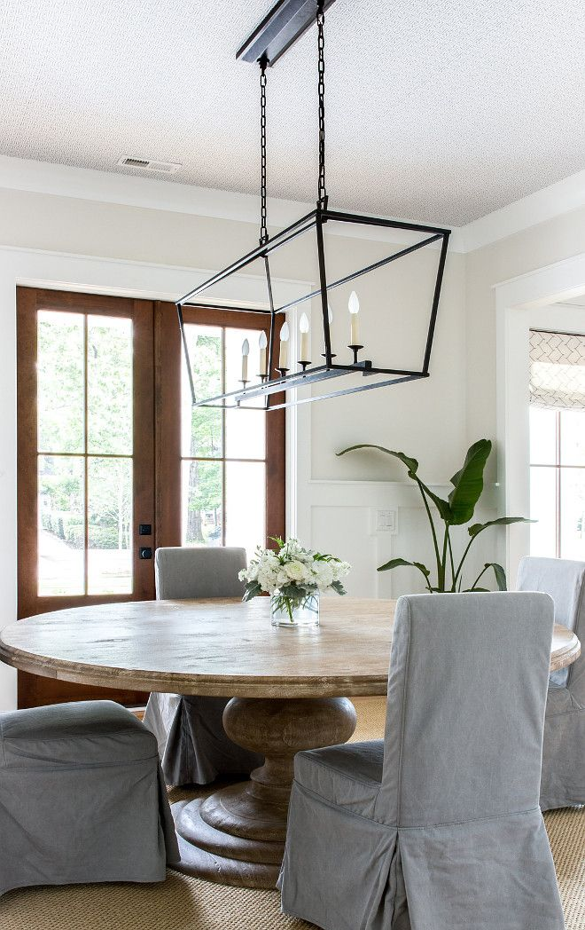 Round Dining Table Inspiration Dining Room With Round