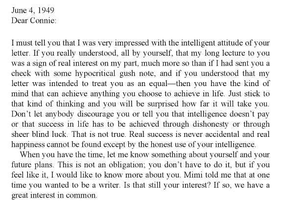 An Actual Letter Ayn Rand Wrote To An Actual Teen Girl