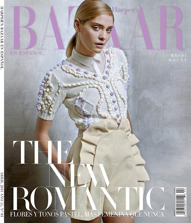 Heidi Mount para Harper's Bazaar Latinoamerica