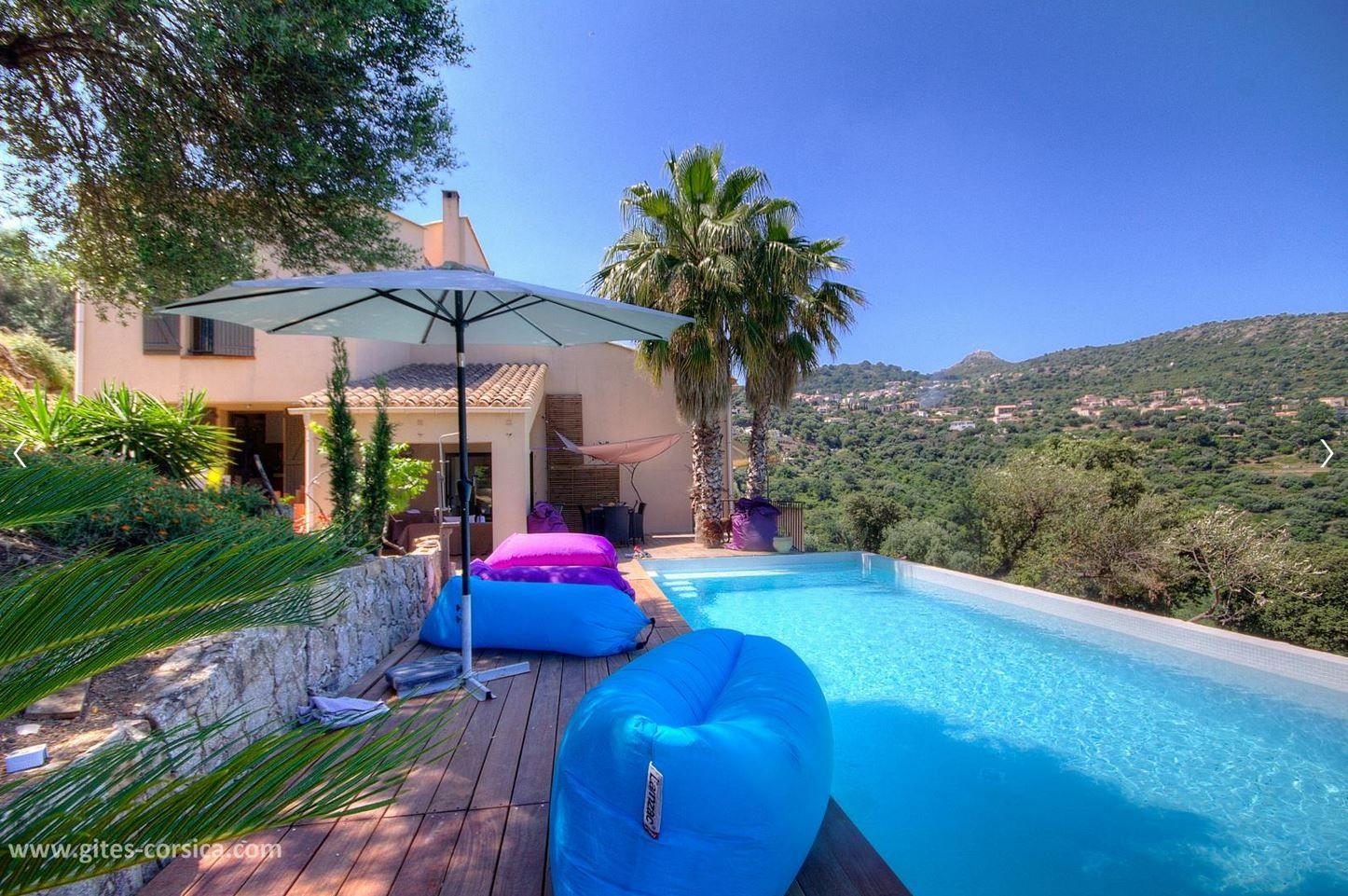 Sur Une Propriete De 2 500 M A Proximite D Ile Rousse Cette Maison De 250 M Entre Mer Et Montagne Est Le Point De Chute Id Vacances Corse Locations Vacances