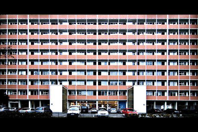 Fritz Jaenecke, Sten Samuelson. Apartment House for Interbau Exhibition, Berlin-Hansaviertel, 1956-1957 Photographer Jonas K. | ARScentre