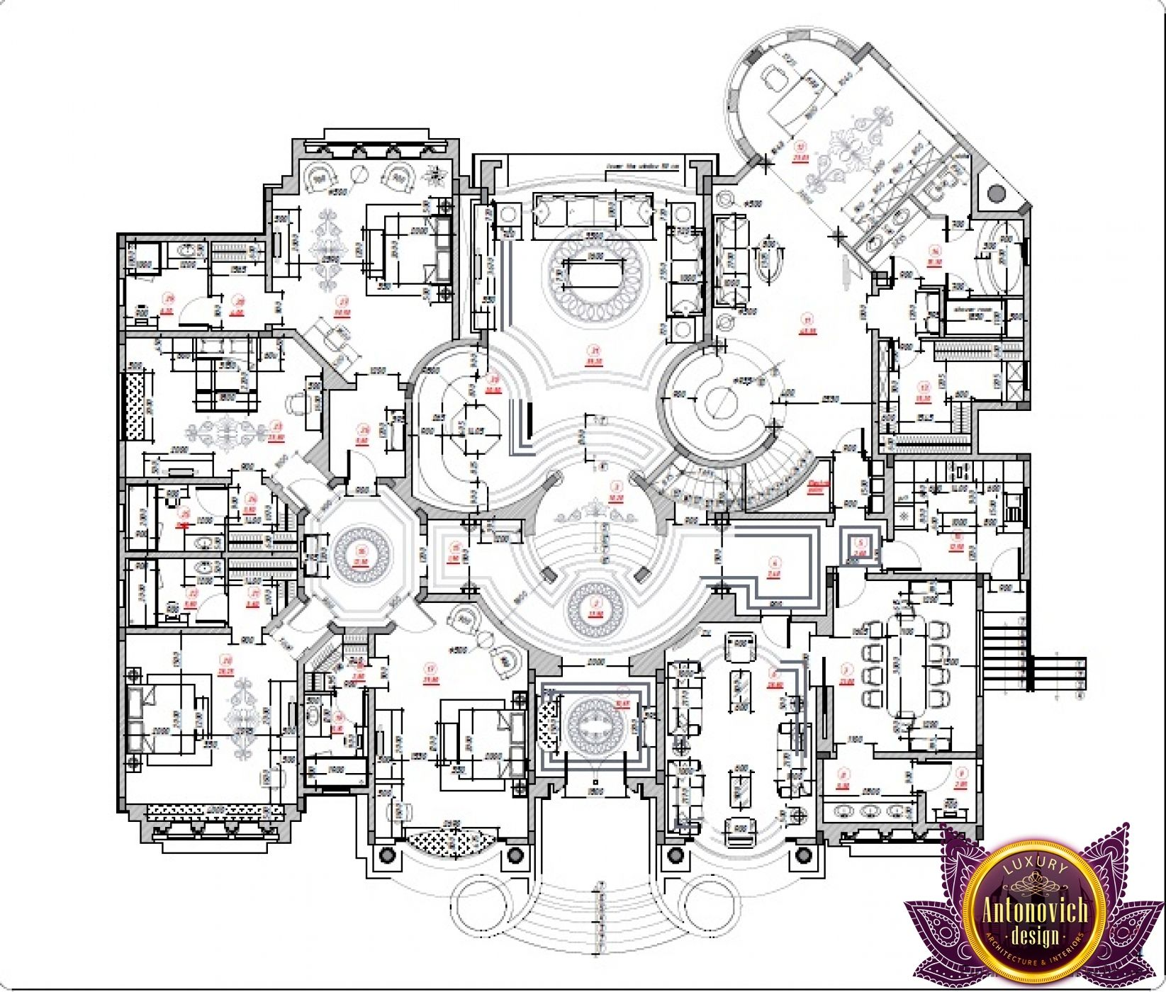Luxury Plans Design