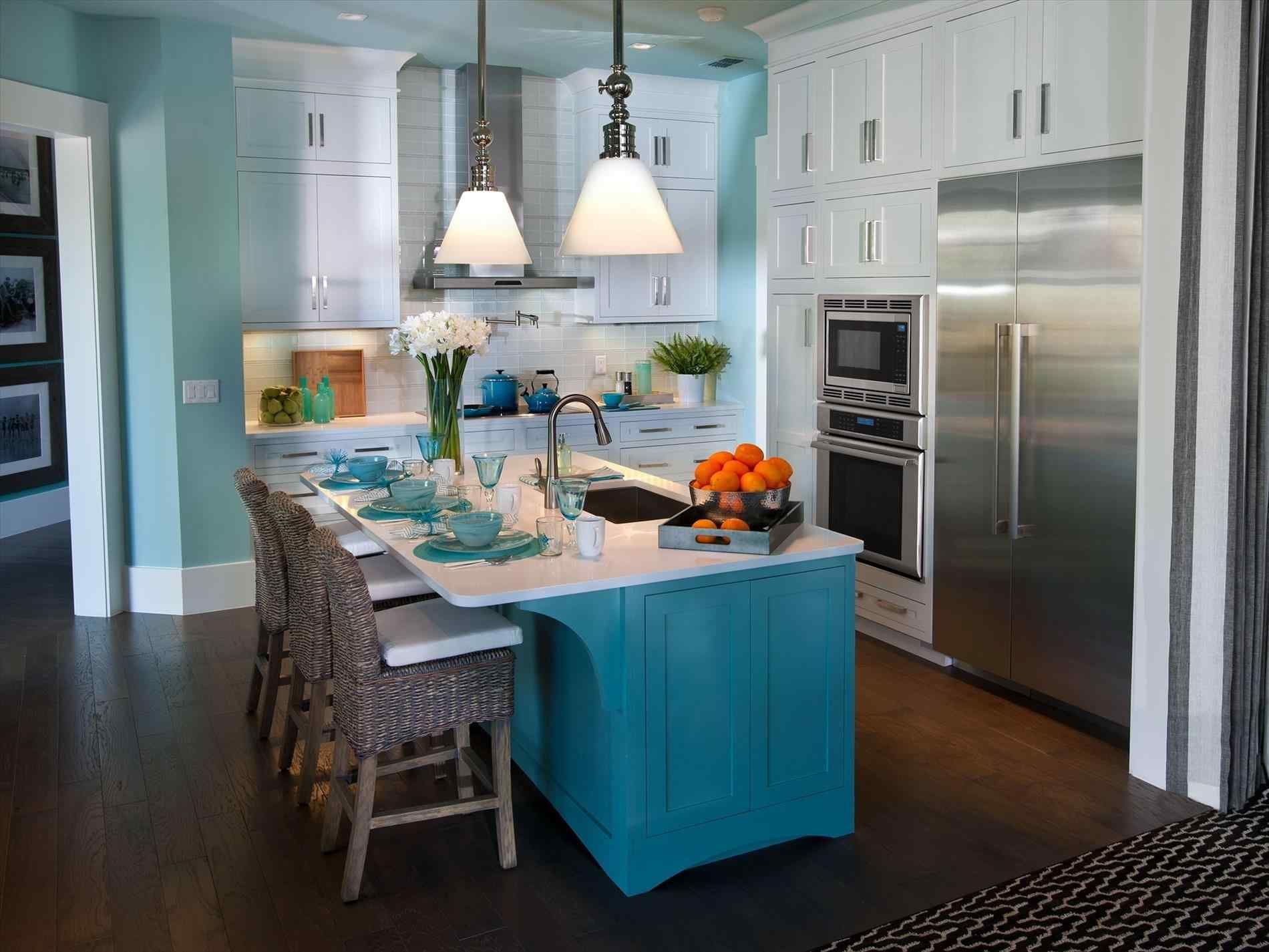 13 Wonderful Teal Kitchen Decorating Ideas That You Must Know