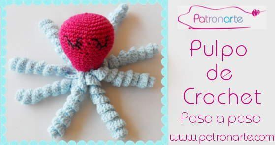 Patrón gratuito para tejer pulpos solidarios a crochet | Amigurumi ...