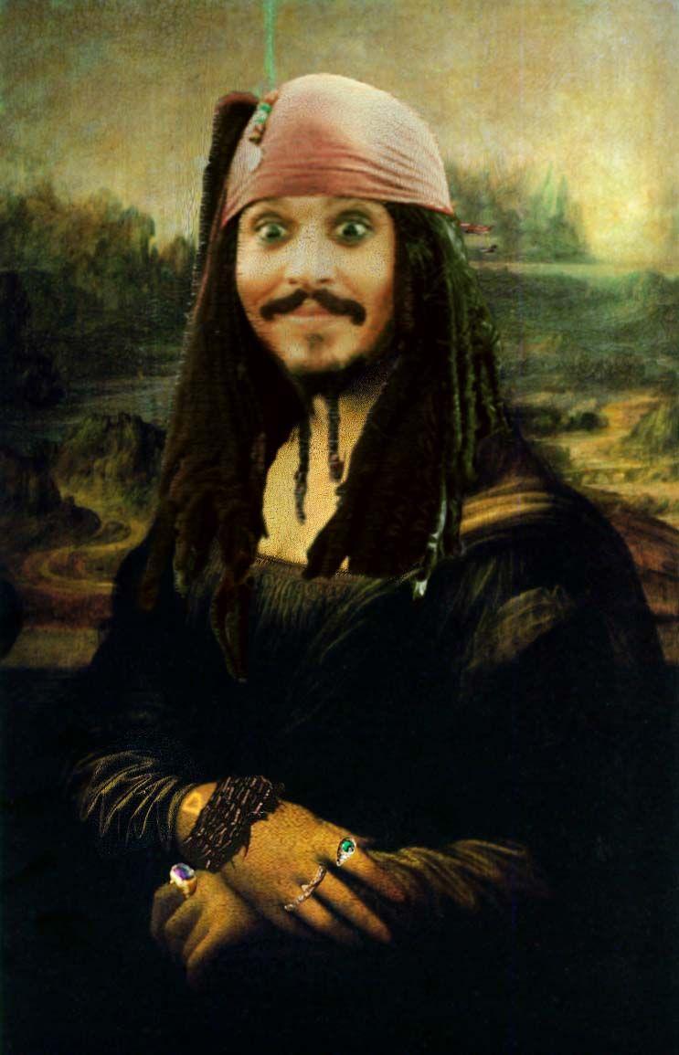 Captain Jack Sparrow Photo: Jack Sparrow - Mona Lisa