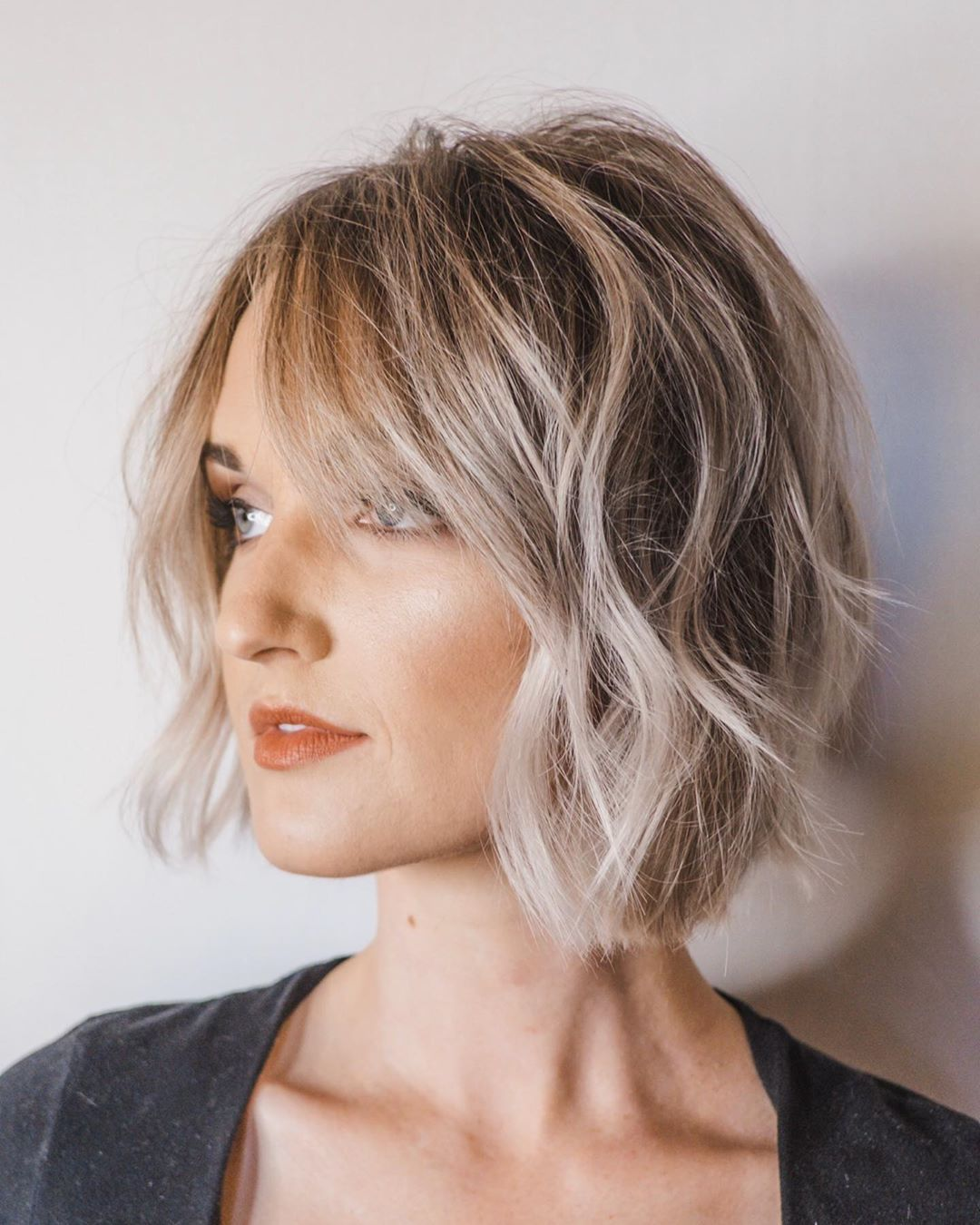 10 Manageable Trendy Bob Haircuts For Women Short Hairstyle 2020 2021 In 2020 Short Wavy Hair Haircut For Thick Hair Thick Hair Styles