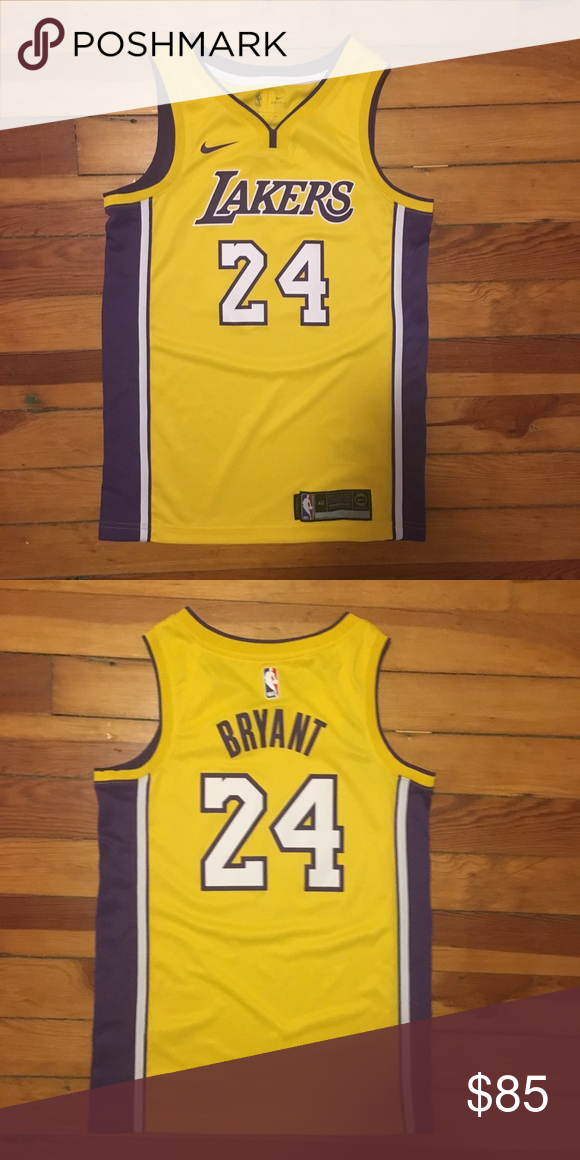 info for 0d535 51d93 Nike Los Angeles Lakers Kobe Bryant NBA Jersey Men's Small ...