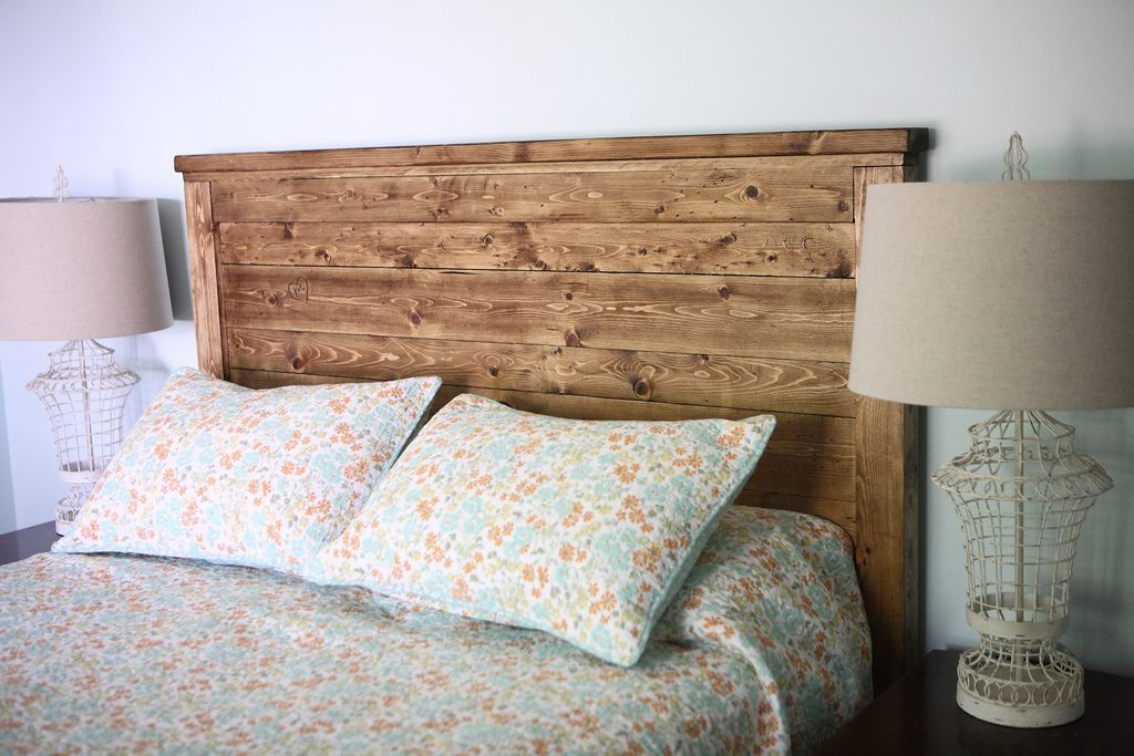 Reclaimed Wood Headboard, Queen Size | Reclaimed wood ...