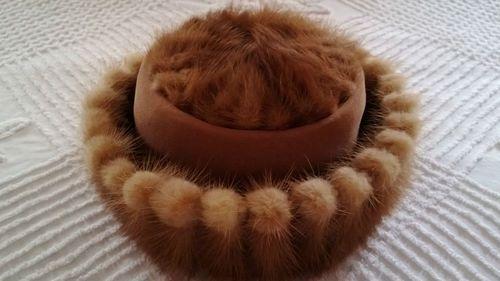 Fabulously Feminine Vintage O'Neil's Mink Hat | eBay