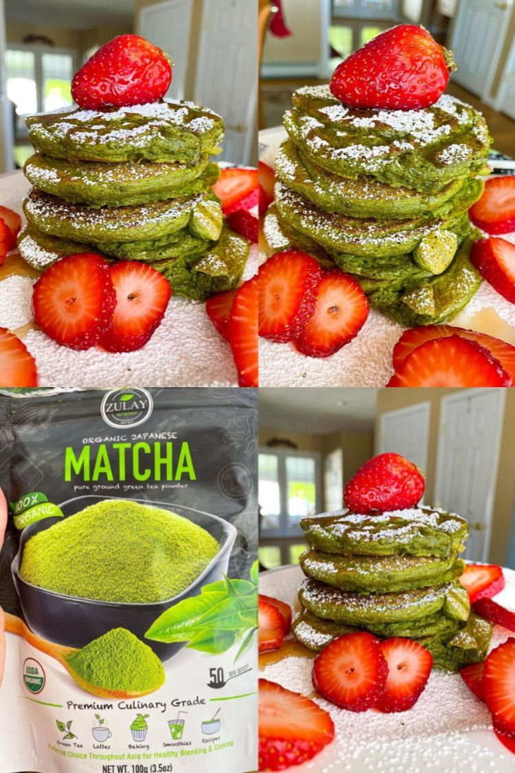 Photo of Matcha Pancakes