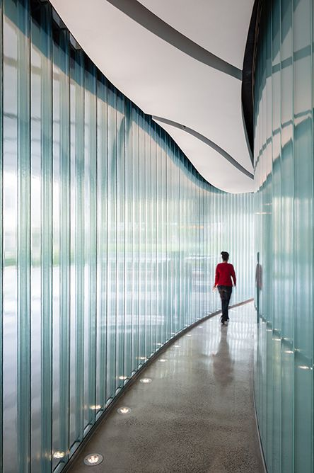 University Of San Francisco Glass Building Glass Wall Design Channel Glass