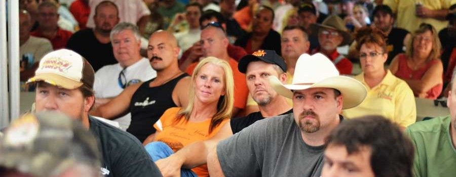 Great cooks meeting photo from - Smokin' on the Suwannee BBQ Festival