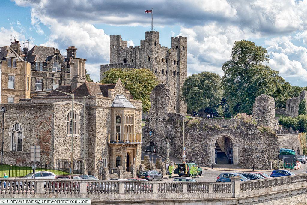 Замок в рочестере фото