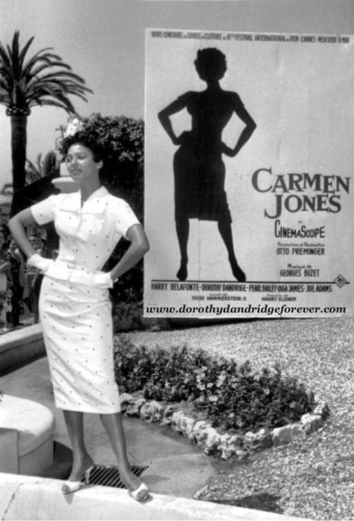 Image result for Dorothy Dandridge Cannes Film Festival in the 1950s