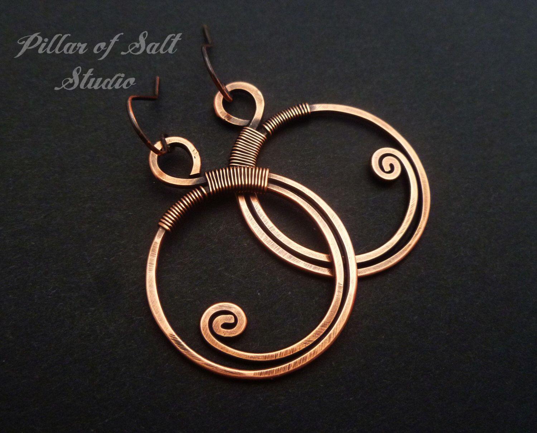 Copper Jewelry Earthy Boho