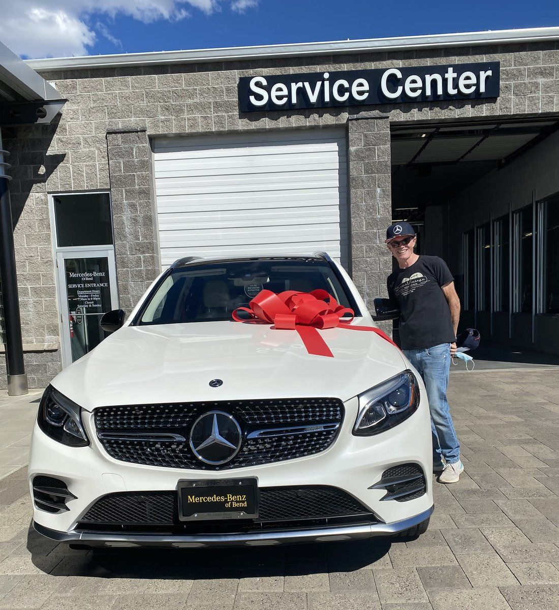 Peter Gilmore Just Treated Themselves To A Mercedes Benz Glc43 Thank You For Letting Mercedes Benz Of Bend And Cash Car Dealership New Mercedes Mercedes Benz