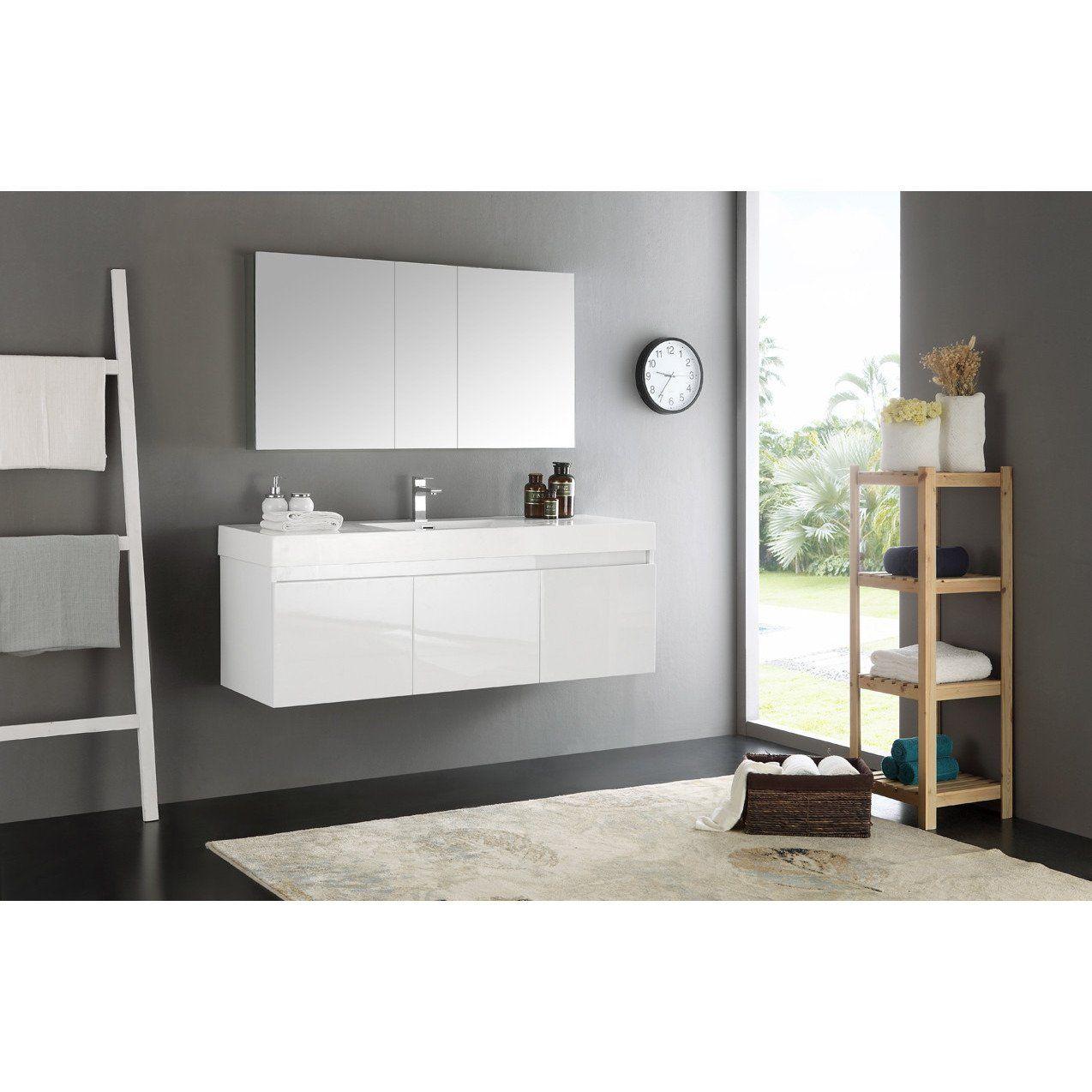 Fresca Mezzo 60 Modern Bathroom