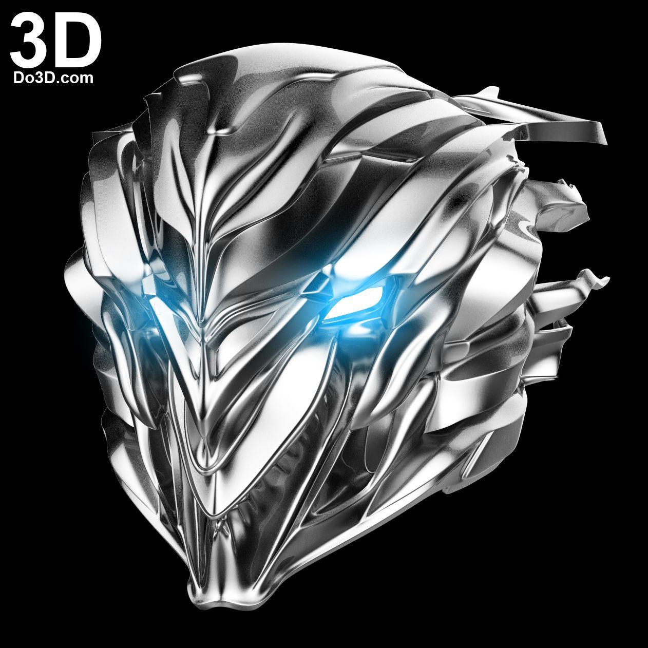 3D Printable Model Savitar Helmet from Flash TV Season 3