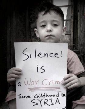 Silence is a crime.
