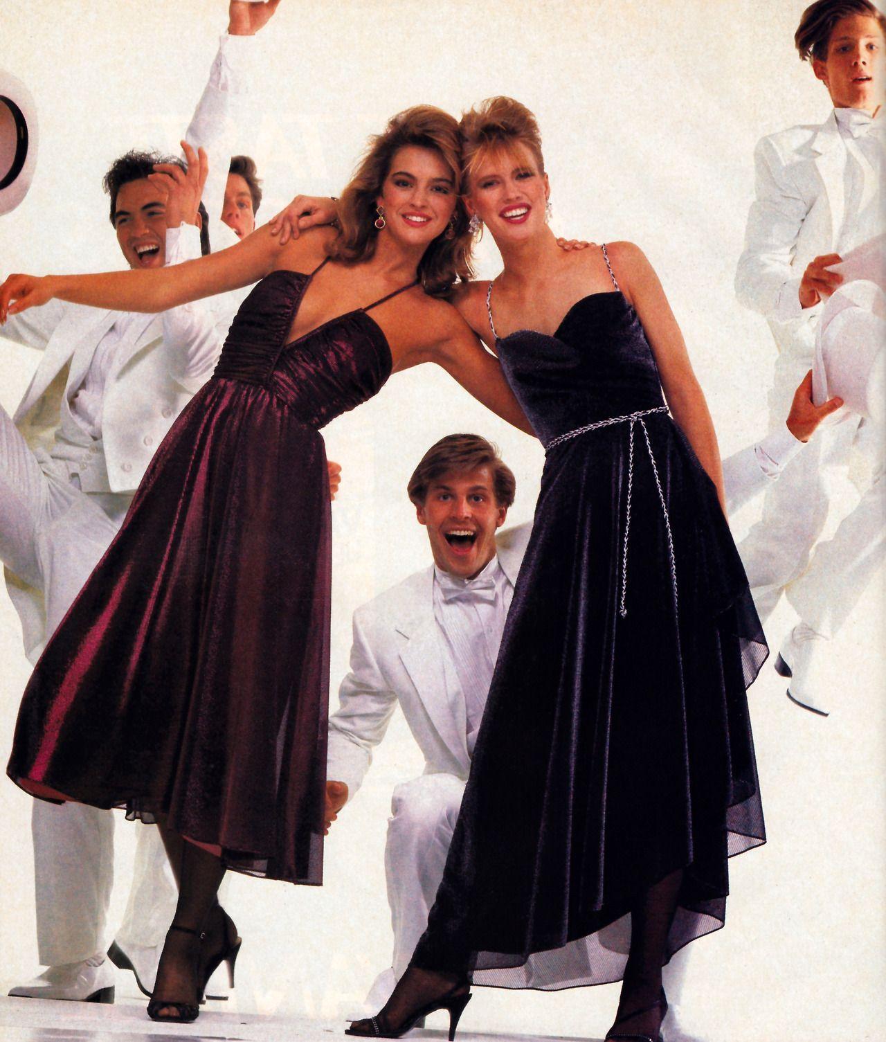 Flirtations, Glamour magazine, November 1984.