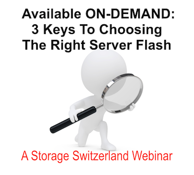"""Flash SSDs are a popular solution for solving storage performance issues. But the number of flash products available can make this choice daunting, causing many IT professionals to feel like they're """"adrift in a sea of server-side flash SSDs"""". Join experts on the Flash SSD market from Storage Switzerland and Micron to help you sort through these choices and find the right solution for your environment in this ON-Demand Webinar.  https://www.brighttalk.com/webcast/5583/110703"""
