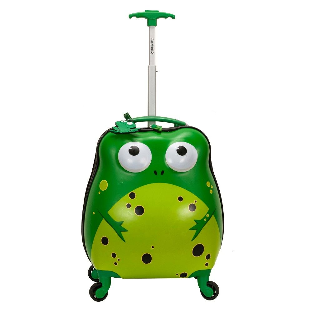 Rockland 17 Kids My First Spinner Suitcase Frog Hardside Spinner Luggage Spinner Luggage Luggage