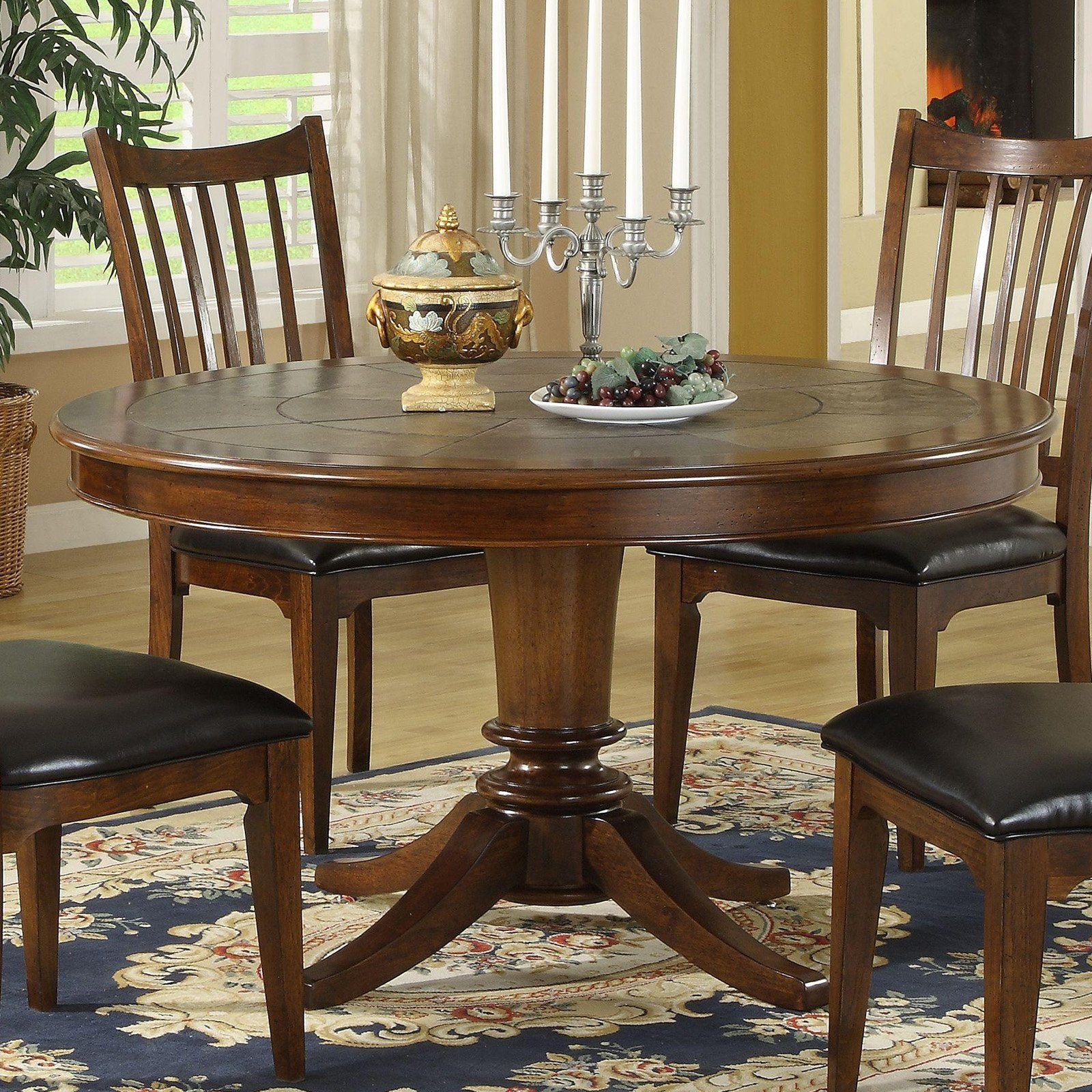 Slate Top Dining Table Dining Table With Slate Inset Warm