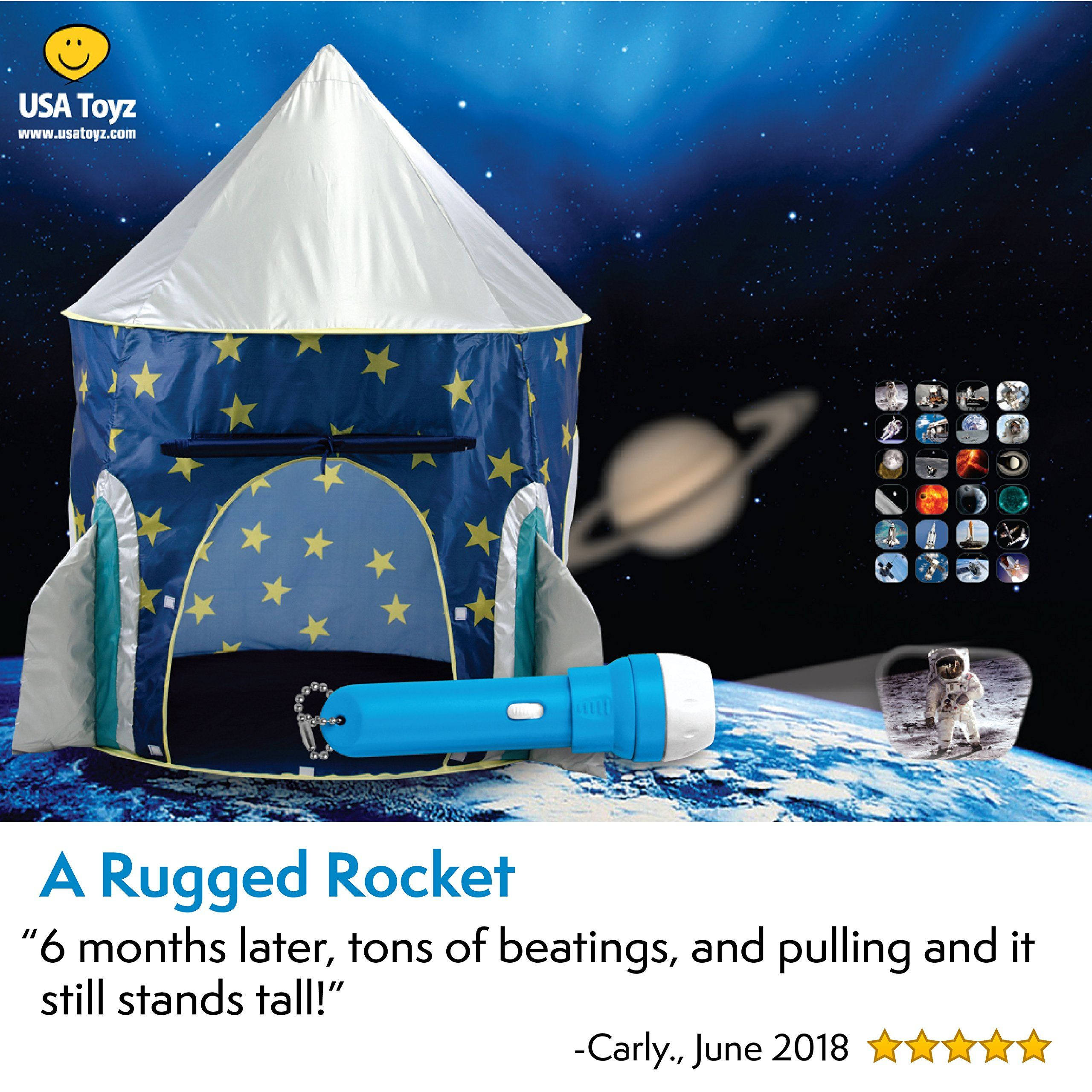 Usa Toyz Kids Play Tent A œrocket Shipa Kids Tent For Girls And Boys Playhouse Tent Toddler Toys Proj Top Gifts For Boys Kids Play Tent Cool Toys For Boys