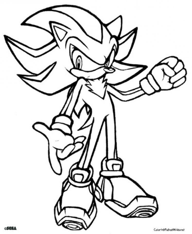 Get This Printable Sonic Coloring Pages 171699 Super Coloring