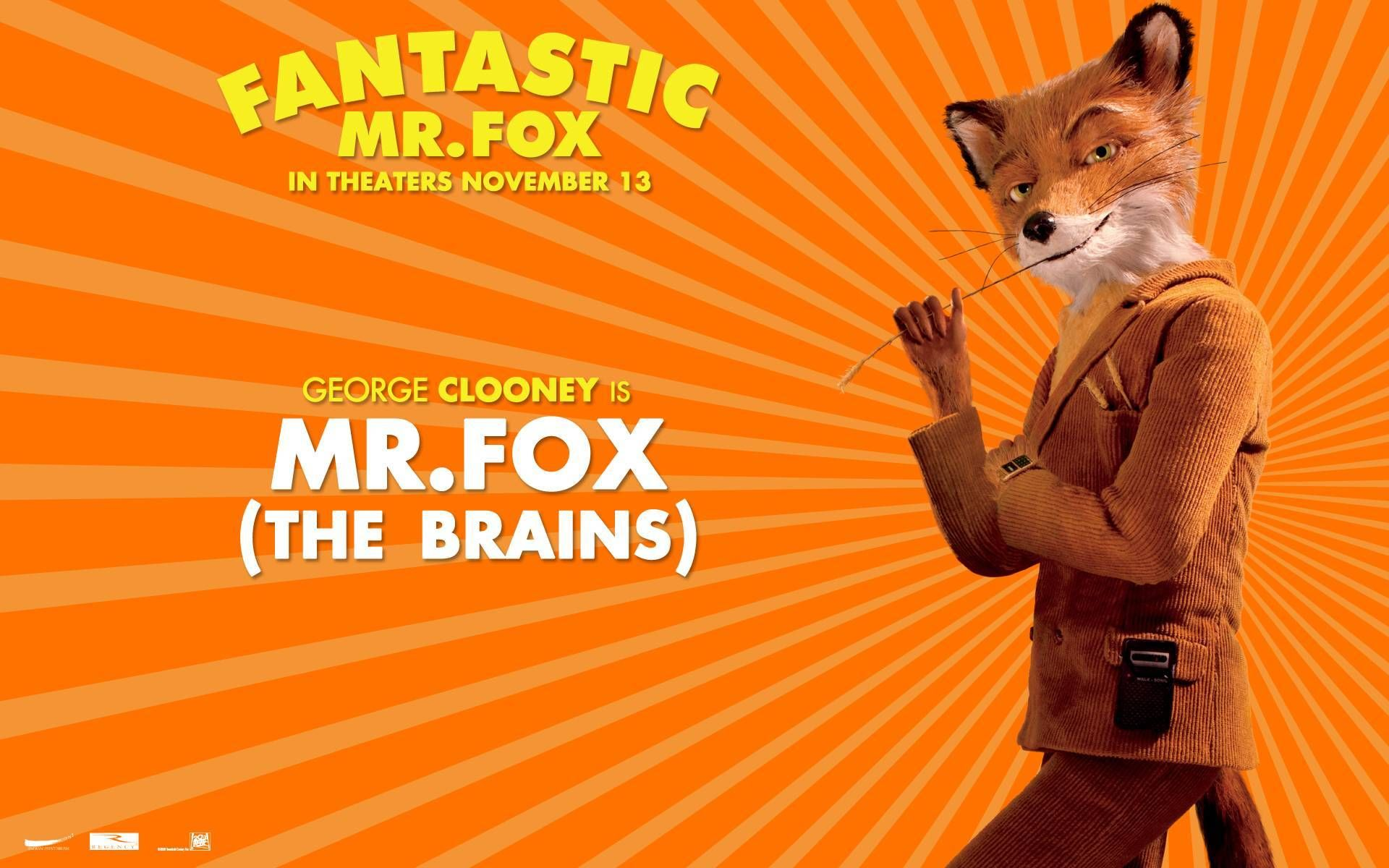 Fantastic Mr Fox Animal Dahl Fancy Dress Mask Accessory Wes Anderson