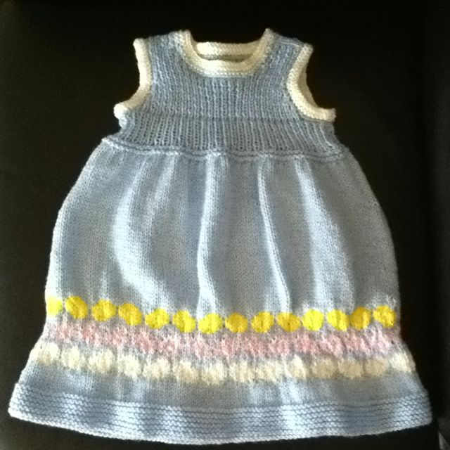 Easter egg dress - some mistakes but overall happy!!! Now, if only my daughter would wear it...