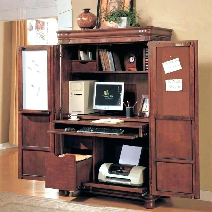 Computer Armoire With Swing Out Desk Https Www Otoseriilan Com In 2020 Armoire Desk Computer Armoire Desk Furniture