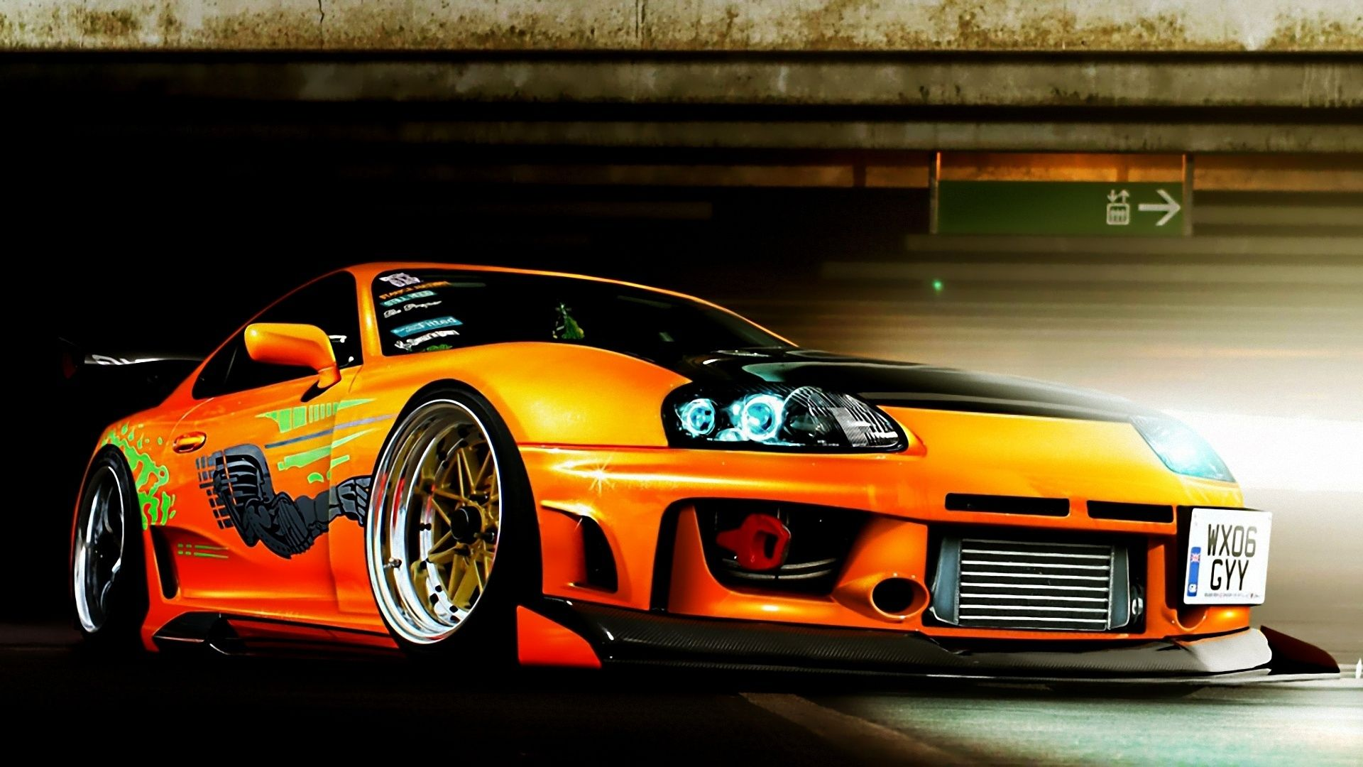 Car JDM Tuning Toyota Supra Wallpapers HD Desktop And Mobile