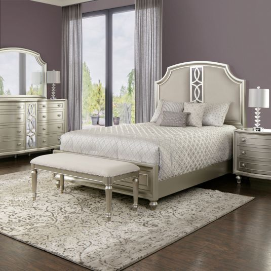 Audrey In 2019 Bedroom White Bedroom Set Queen White Bedroom