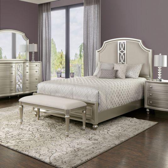 Audrey In 2019 Bedroom White Bedroom Set Queen White Bedroom