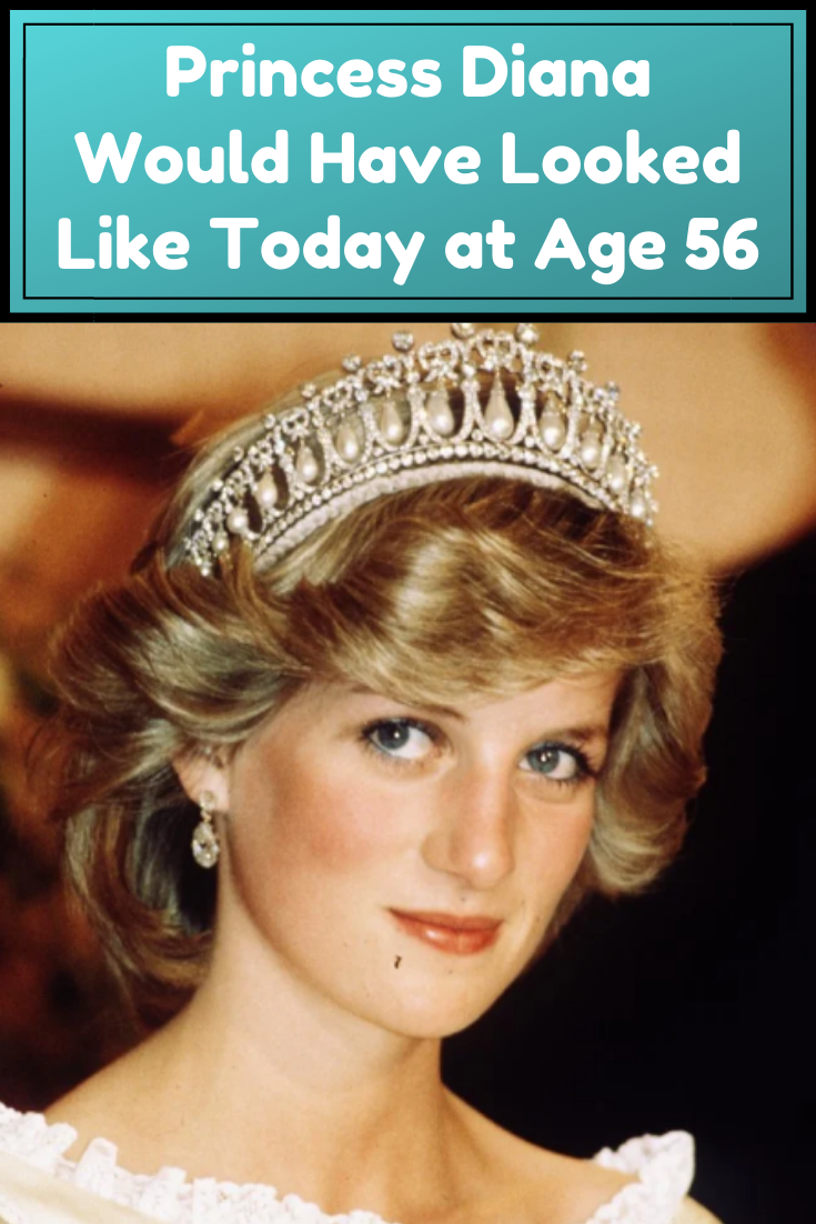 Princess Diana Would Have Looked Like Today at Age 56 in